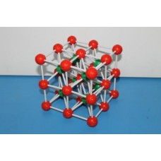 Calcium Chloride Structure Model (CsCl)