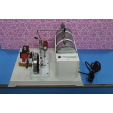 Steam Engine Model with Electricity Generator